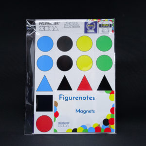 Magnets in their packaging