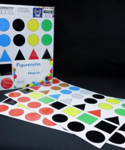 Image of Figurenotes Magnets Value Pack