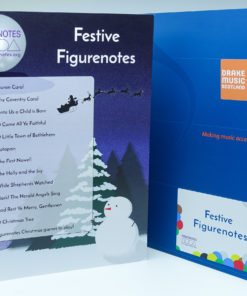 Front cover and contents page of Festive Figurenotes pack