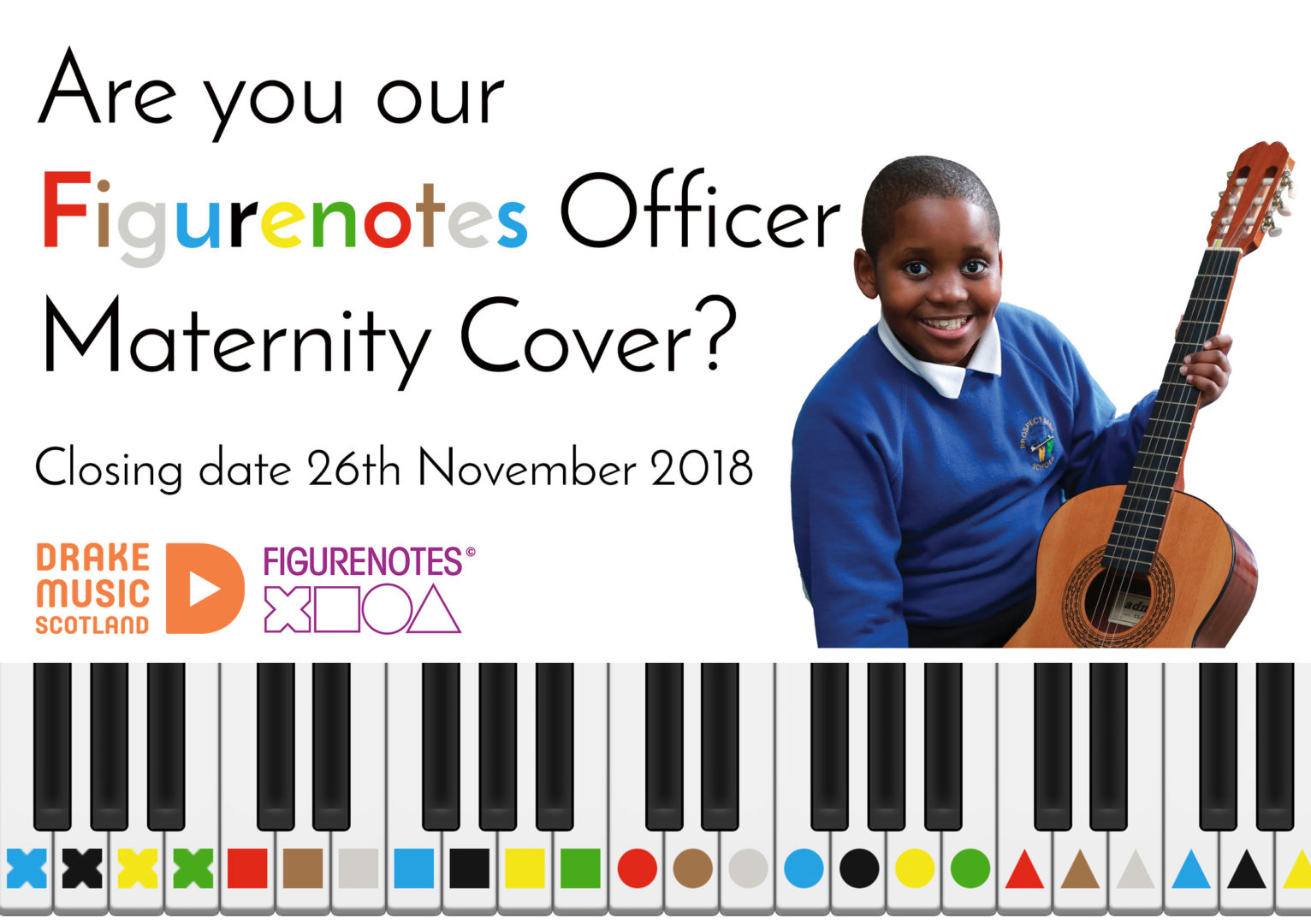 Are you our Figurenotes Officer Maternity Cover?